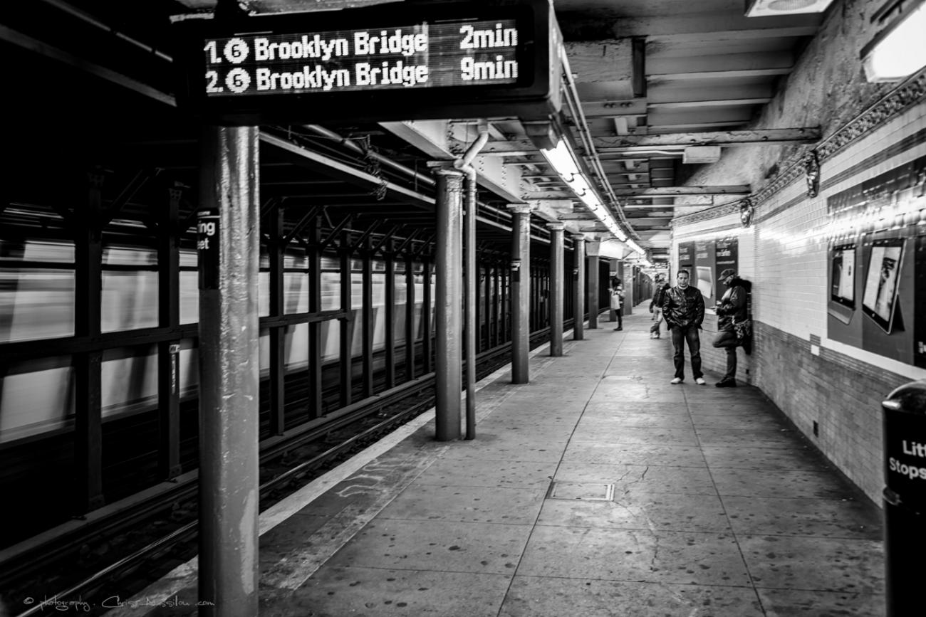 Subway Christian Aussillou New York Métro Photographe Samantha Salloum