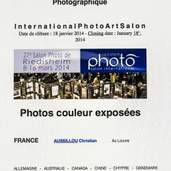 Salon international d'art photographique de Riedisheim