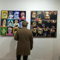 Exposition à New York en avril 2018